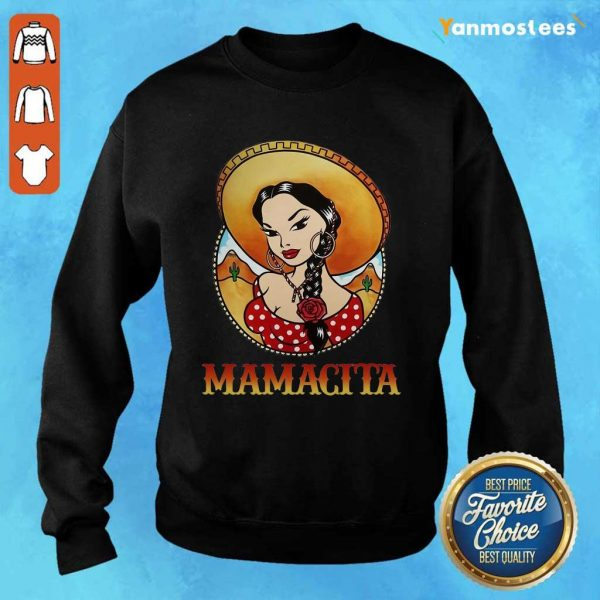 Happy Girl Mamacita Cinco De Mayo Sweater