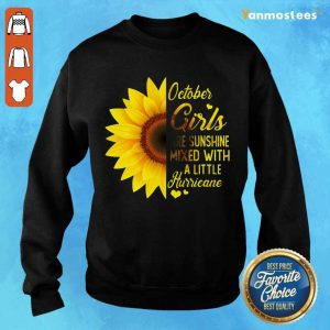 Hot October Girl 2001 Are Sunshine Mixed With A Little Hurricane Sweater