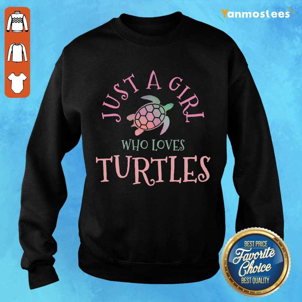 Perfect Just A Girl Who Loves Turtles Sweater