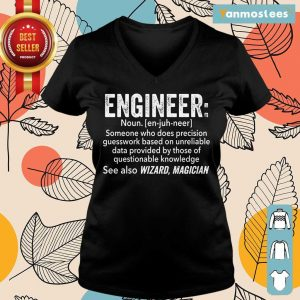 Top Engineer See Also Wizard Magician Ladies Tee