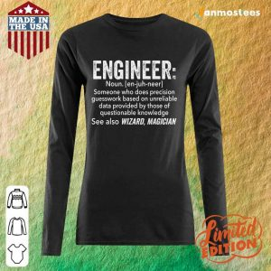 Top Engineer See Also Wizard Magician Long-Sleeved
