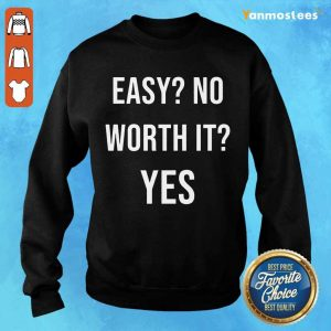 Wonderful Easy No Work It Yes Sweater