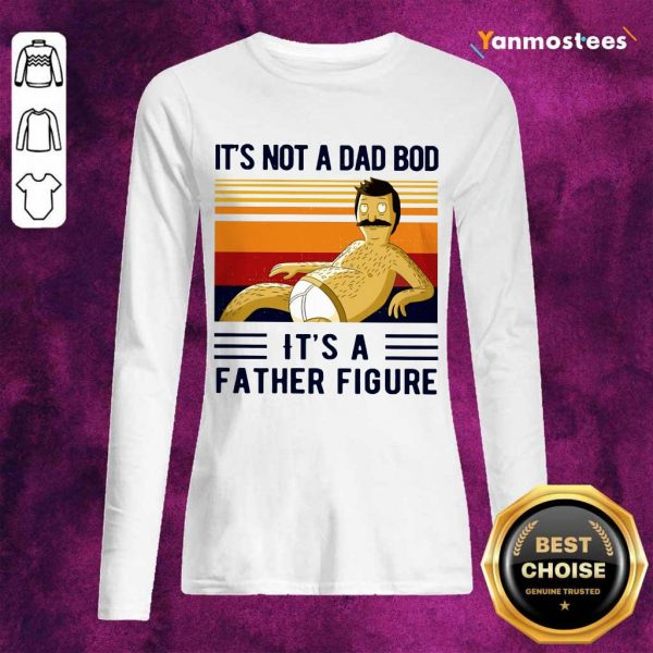 A Dad Bod Father Figure Vintage Long-Sleeved