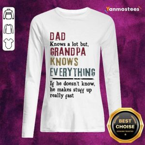 Dad Grandpa Knows Everything Long-Sleeved