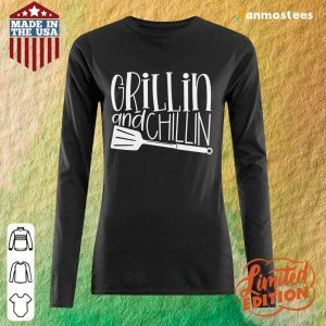 Grillin And Chillin Long-Sleeved