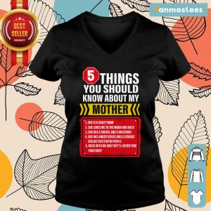 5 Things You Should Know About My Mother Ladies Tee