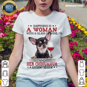 A Woman And Her Chihuahua Ladies Tee
