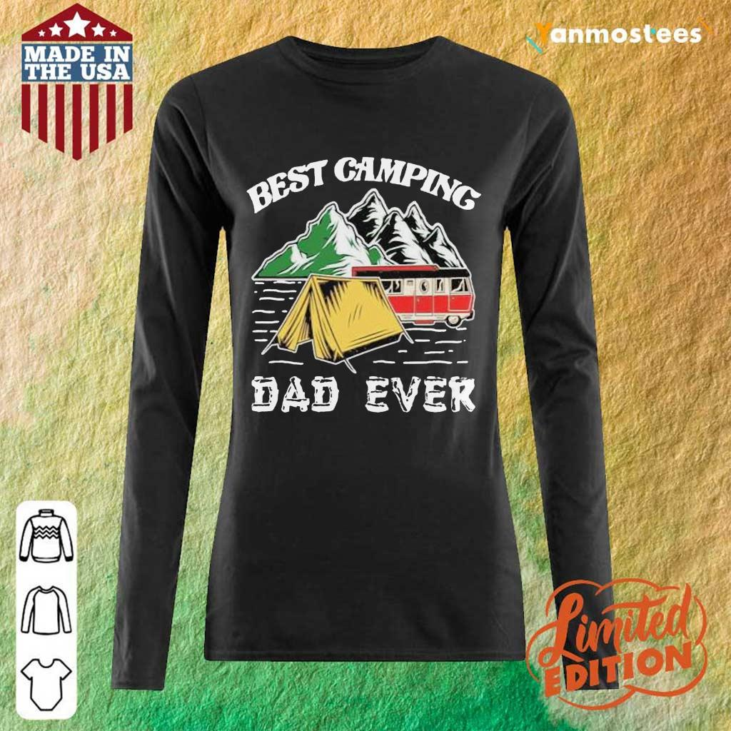 Best Camping Dad Ever Long-Sleeved