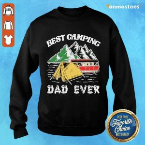 Best Camping Dad Ever Sweater