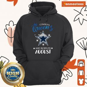 Cowboy Queens Are Born In August Hoodie
