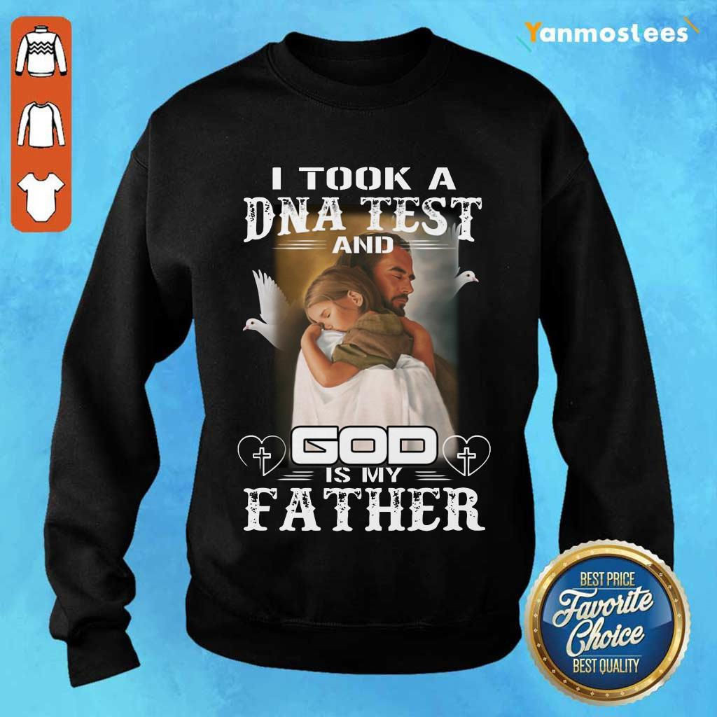 DNA Test And God Is My Father Sweater
