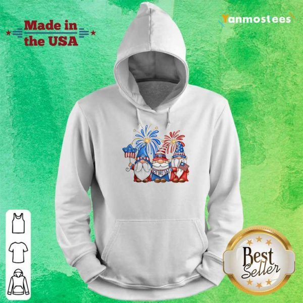 Gnomes Happy Independence Day Hoodie