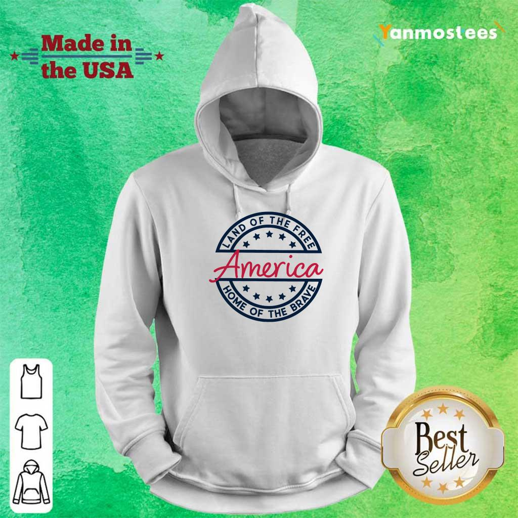 Home of the Brave America Hoodie