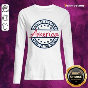 Home of the Brave America Long-Sleeved