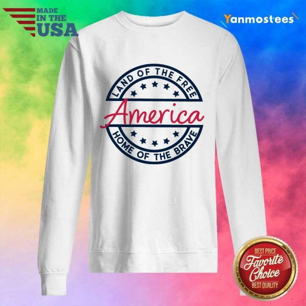 Home of the Brave America Sweater