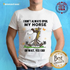 I Don't Always Spoil My Horse Shirt