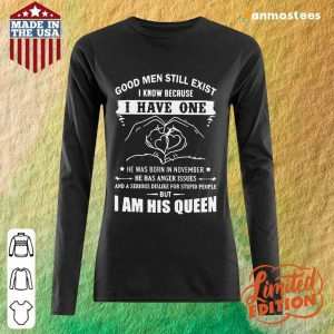 I Have One I Am His Queen Long-Sleeved