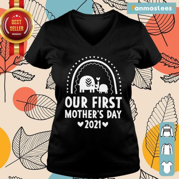 Our First Mothers Day 2021 Elephant Ladies Tee
