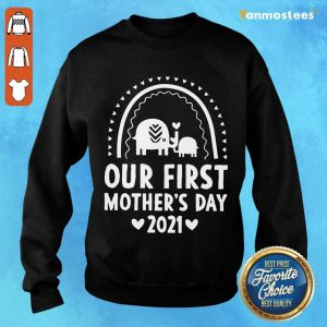 Our First Mothers Day 2021 Elephant Sweater