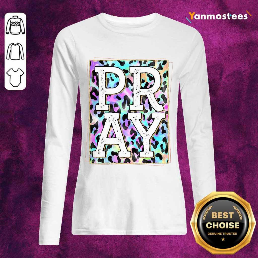 Perfect Pastel Leopard Pray Long-Sleeved