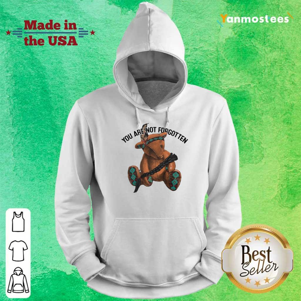 You Are Not Forgotten Bear Hoodie