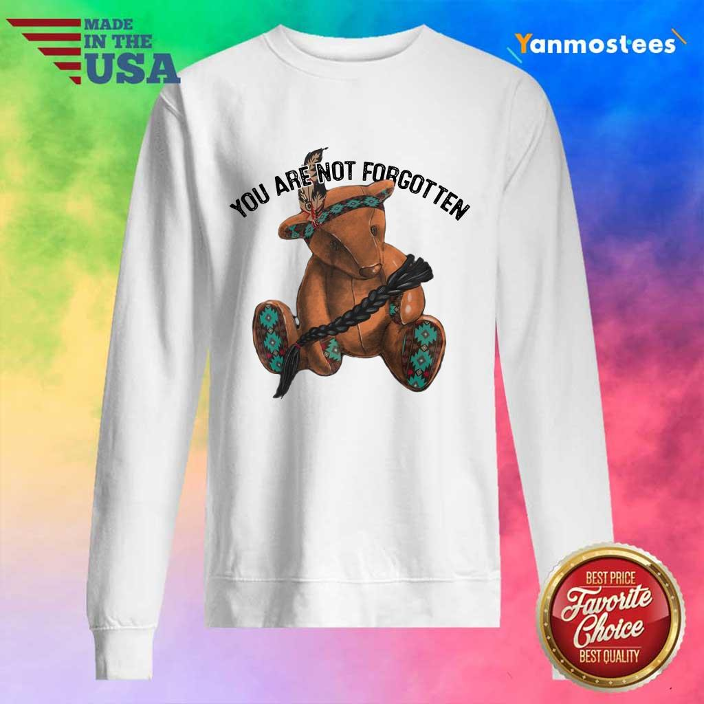 You Are Not Forgotten Bear Sweater