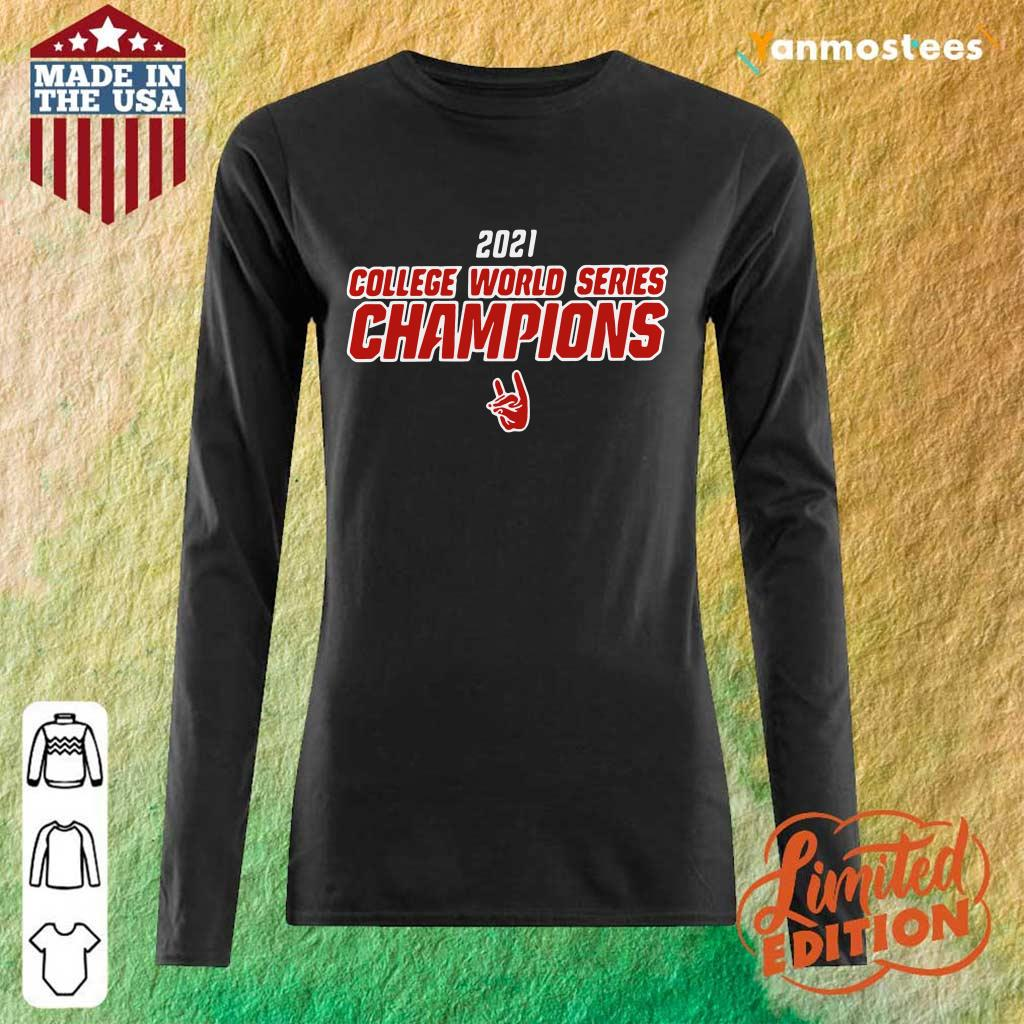 2021 College World Series Champions NCS Long-Sleeved