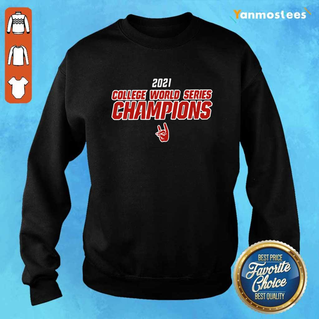 2021 College World Series Champions NCS Sweater