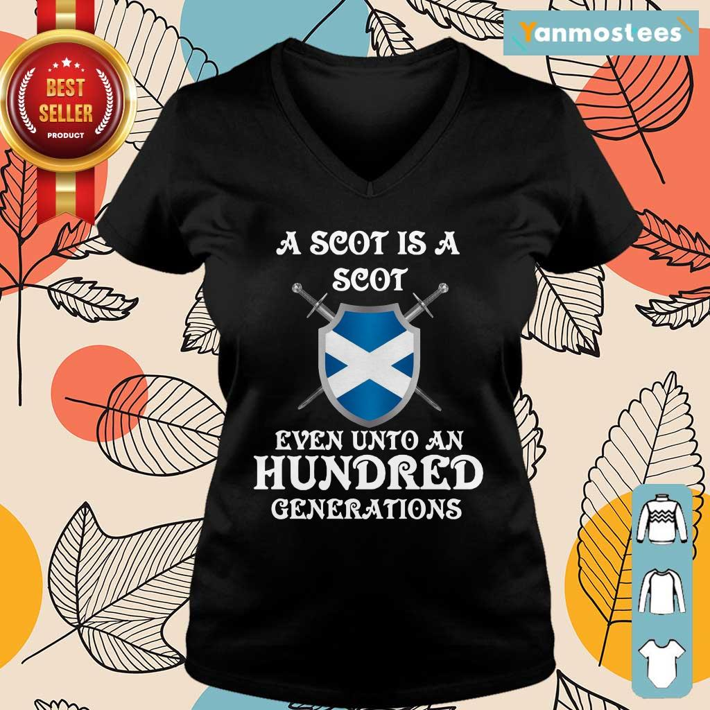 A Scot Even Unto A Hundred Generations Ladies Tee