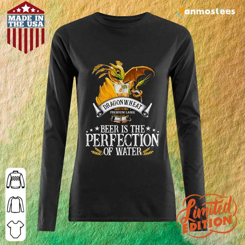 Dragon Wheat Premium Large Beer Is The Perfection Of Water Long-Sleeved