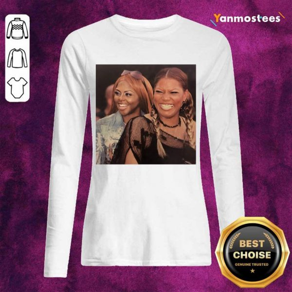 Lil Kim And Queen Latifah Long-Sleeved
