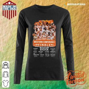 Phoenix Suns 2021 Western Conference Finals Signatures Long-Sleeved