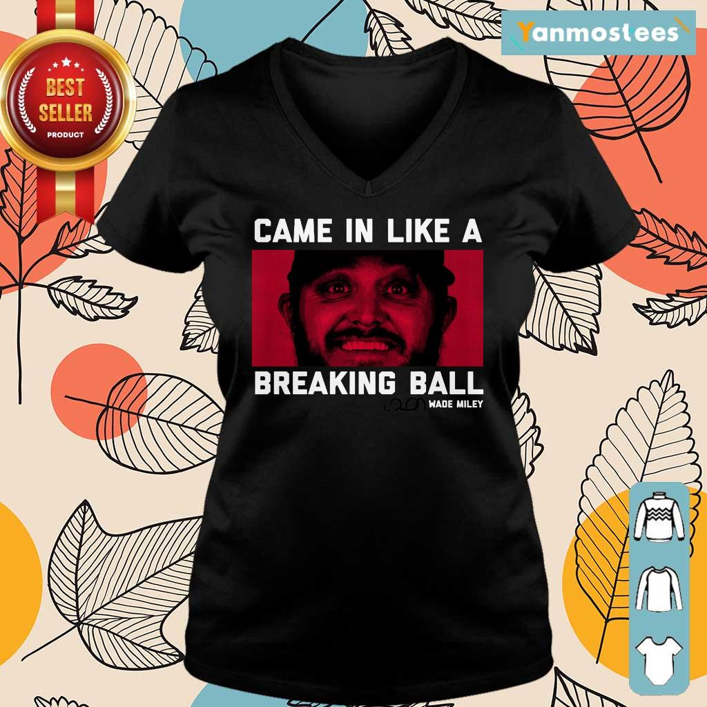 Wade Miley Came In Like A Breaking Ball Ladies Tee