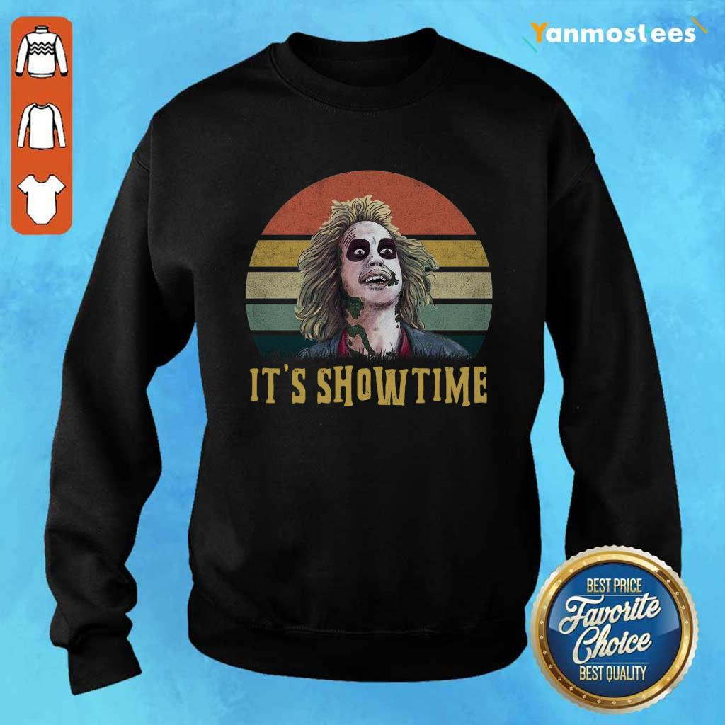Cool Joker Its Showtime Vintage Sweater