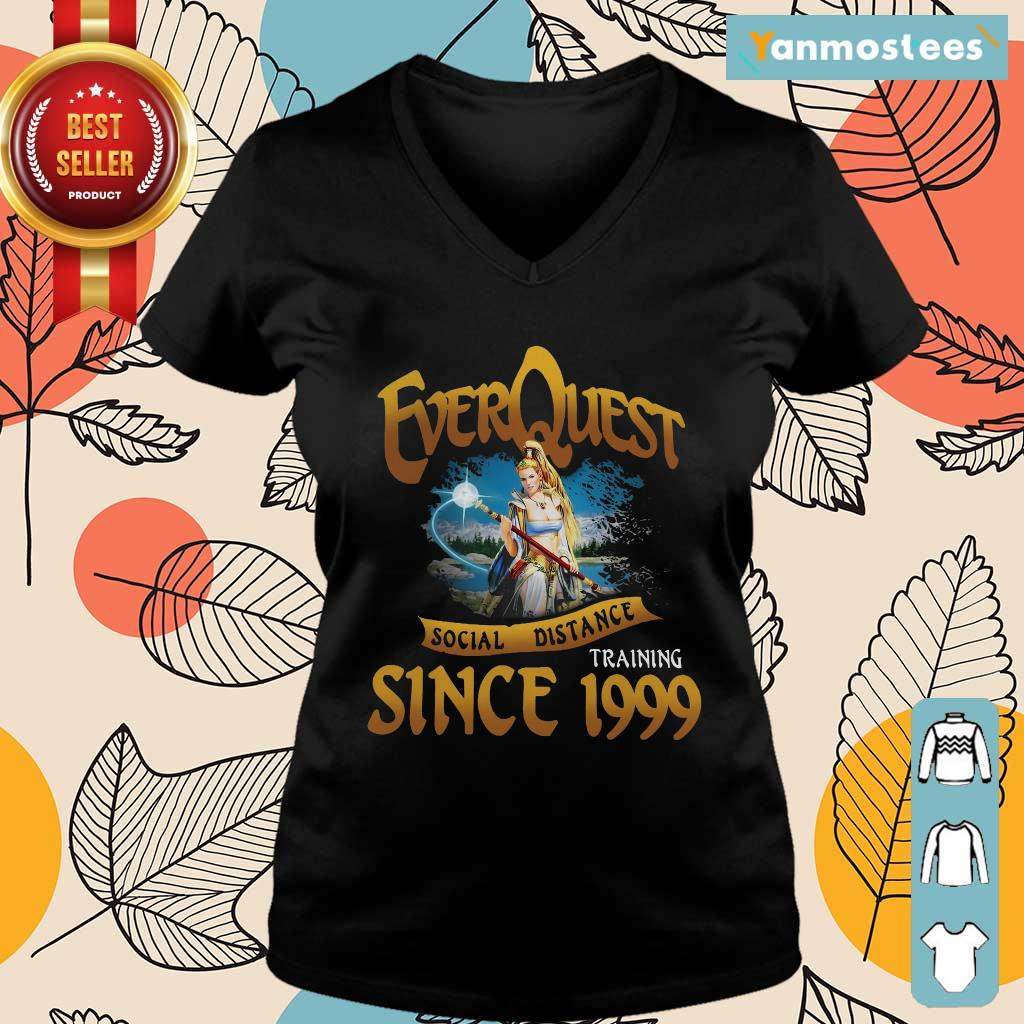 Everquest Social Distance Training Since 1999 Ladies Tee