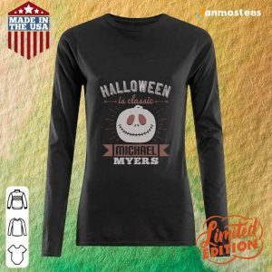 Halloween Is Classic Michael Myers Long-Sleeved