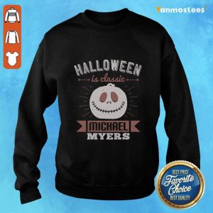 Halloween Is Classic Michael Myers Sweater