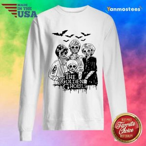Halloween The Golden Ghouls Funny Sweater