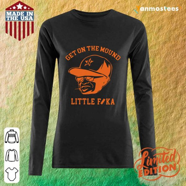 Houston Astros Get On The Mound Little Fika Long-Sleeved