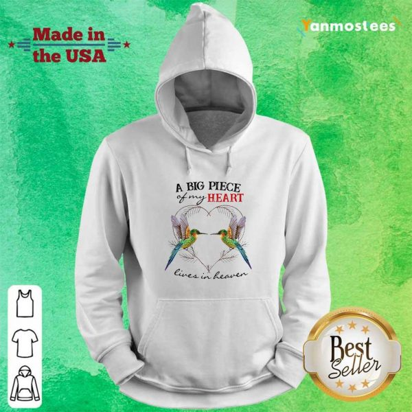 Hummingbird A Biart Lives In Haven Hoodie