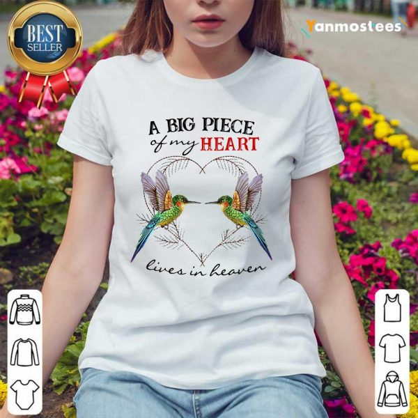 Hummingbird A Biart Lives In Haven Ladies Tee