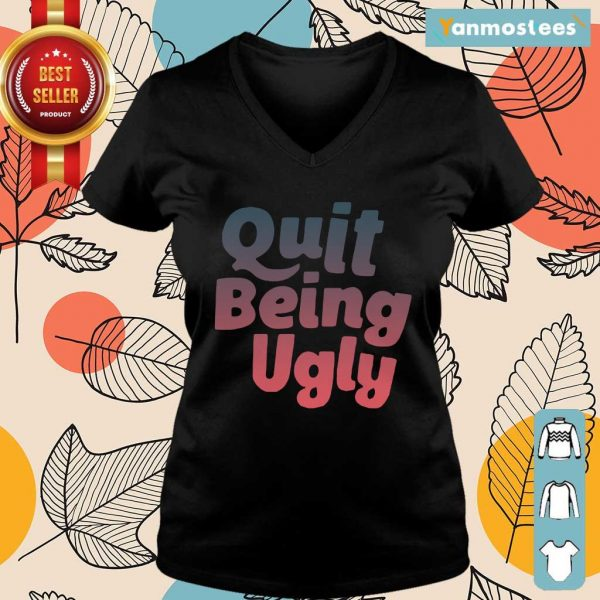I Want Quit Being Ugly Ladies Tee