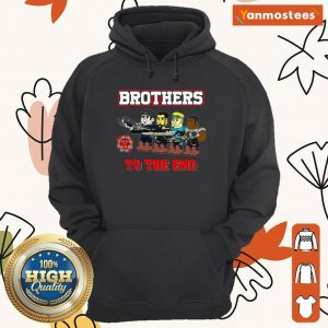 Lulz Of War Brothers To The End Hoodie