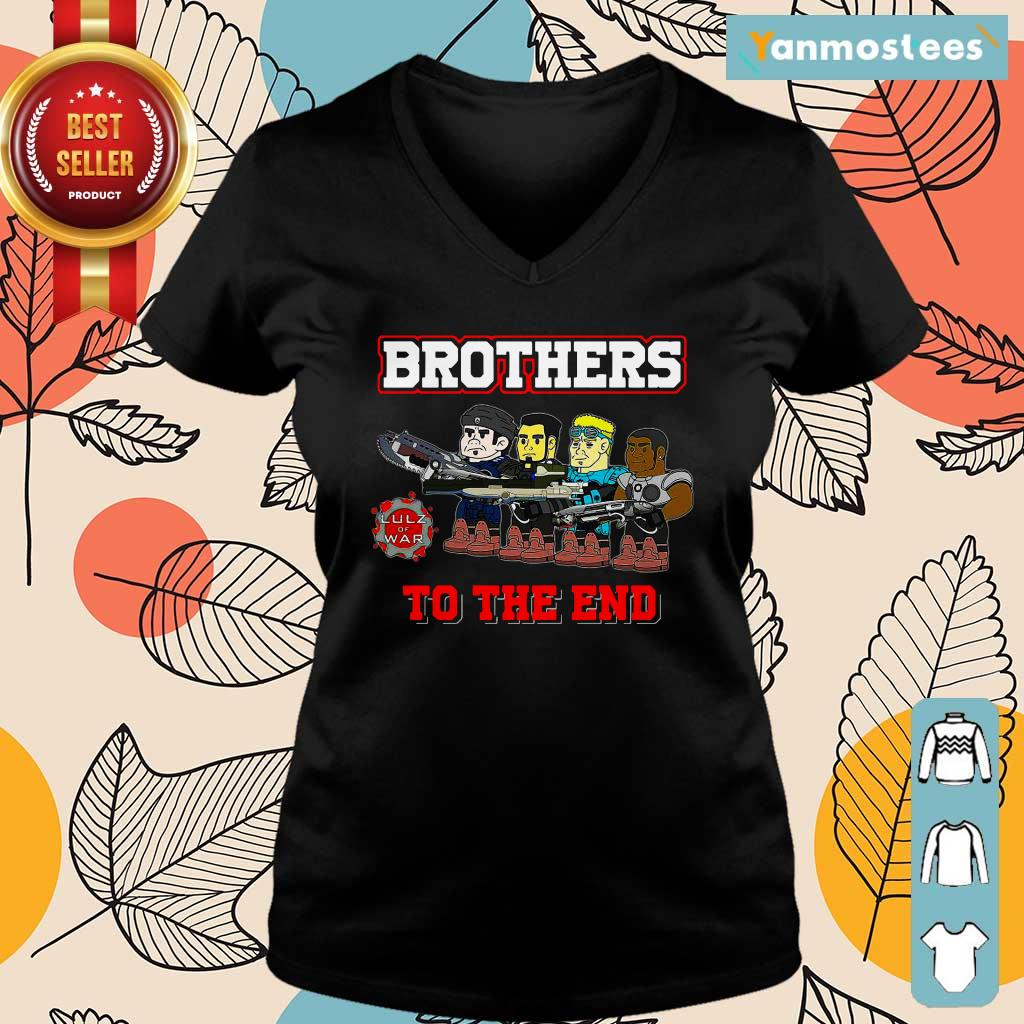 Lulz Of War Brothers To The End Ladies Tee