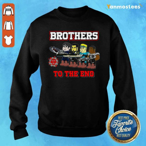 Lulz Of War Brothers To The End Sweater