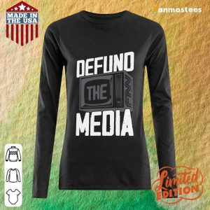 Beautiful Defund The Media Long-Sleeved