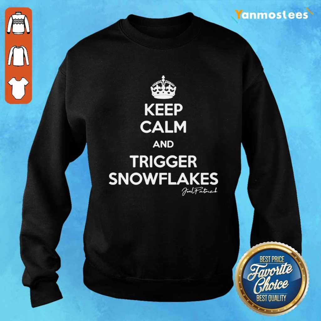 Keep Calm And Trigger Snowflakes Sweater