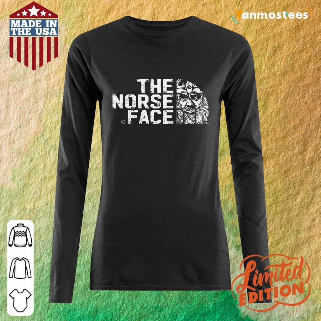 Official The Norse Face Long-Sleeved