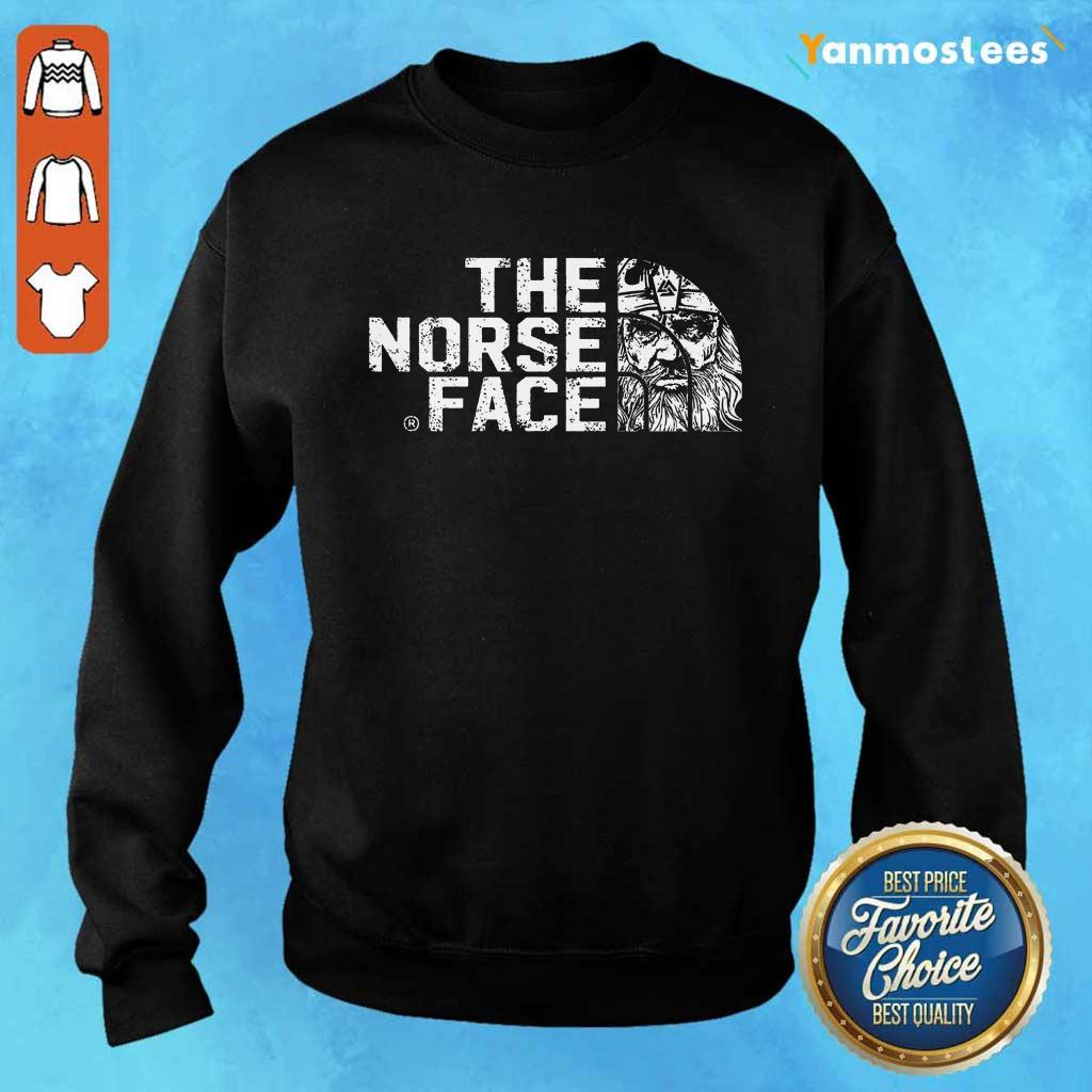 Official The Norse Face Sweater