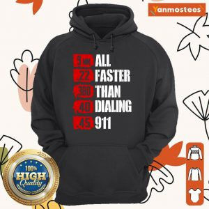 9mm 22 380 All Faster Than Dialing Hoodie